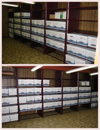 Record Storage Project for Decorah Implement - Decorah, IA