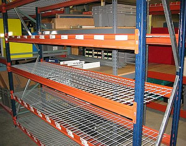 24 Quot X 96 Quot 7 Tall Mecalux Wide Span Shelving Used