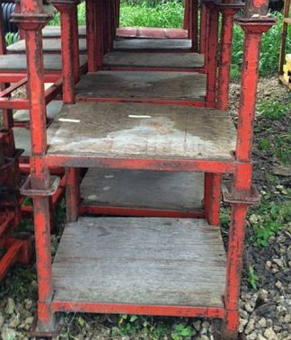 "32""x24"" (18"" Useable) Stack Racks - Used"