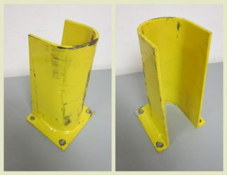 "Yellow 10"" Column Protectors - Used"